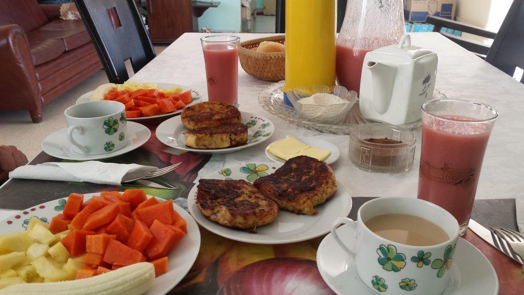 Img post La Habana en 3 días. Desayuno2 - Pasaporte y Millas