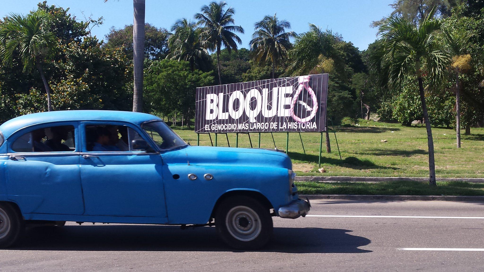 Img post La Habana en 3 días. Cartel Bloqueo - Pasaporte y Millas
