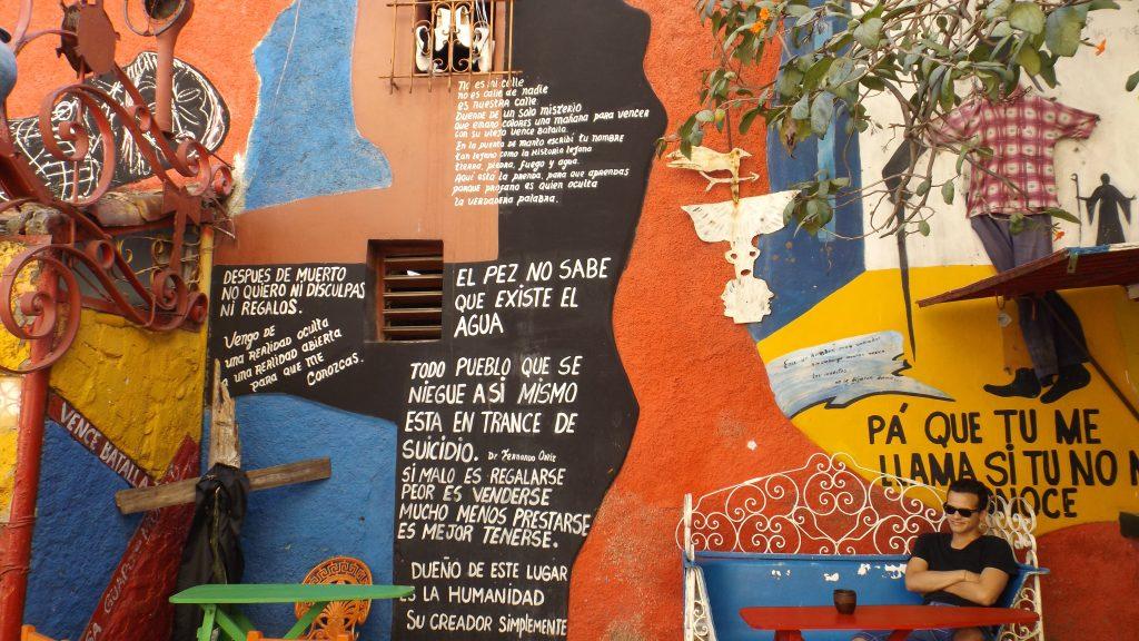 Img post La Habana en 3 días. Callejón Hamel - Pasaporte y Millas