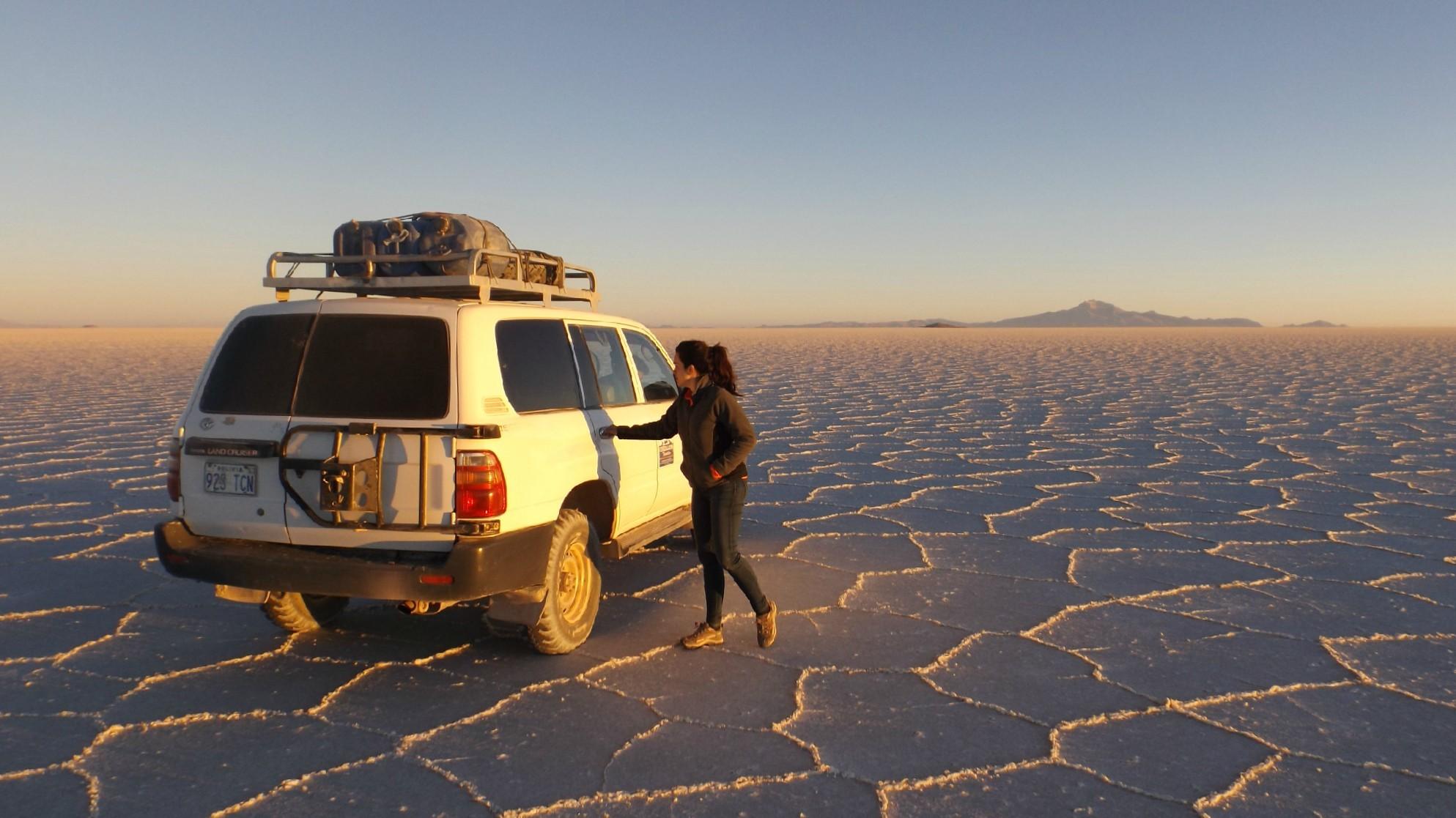 Salas de Uyuni Jeep. -Pasaporte y Millas