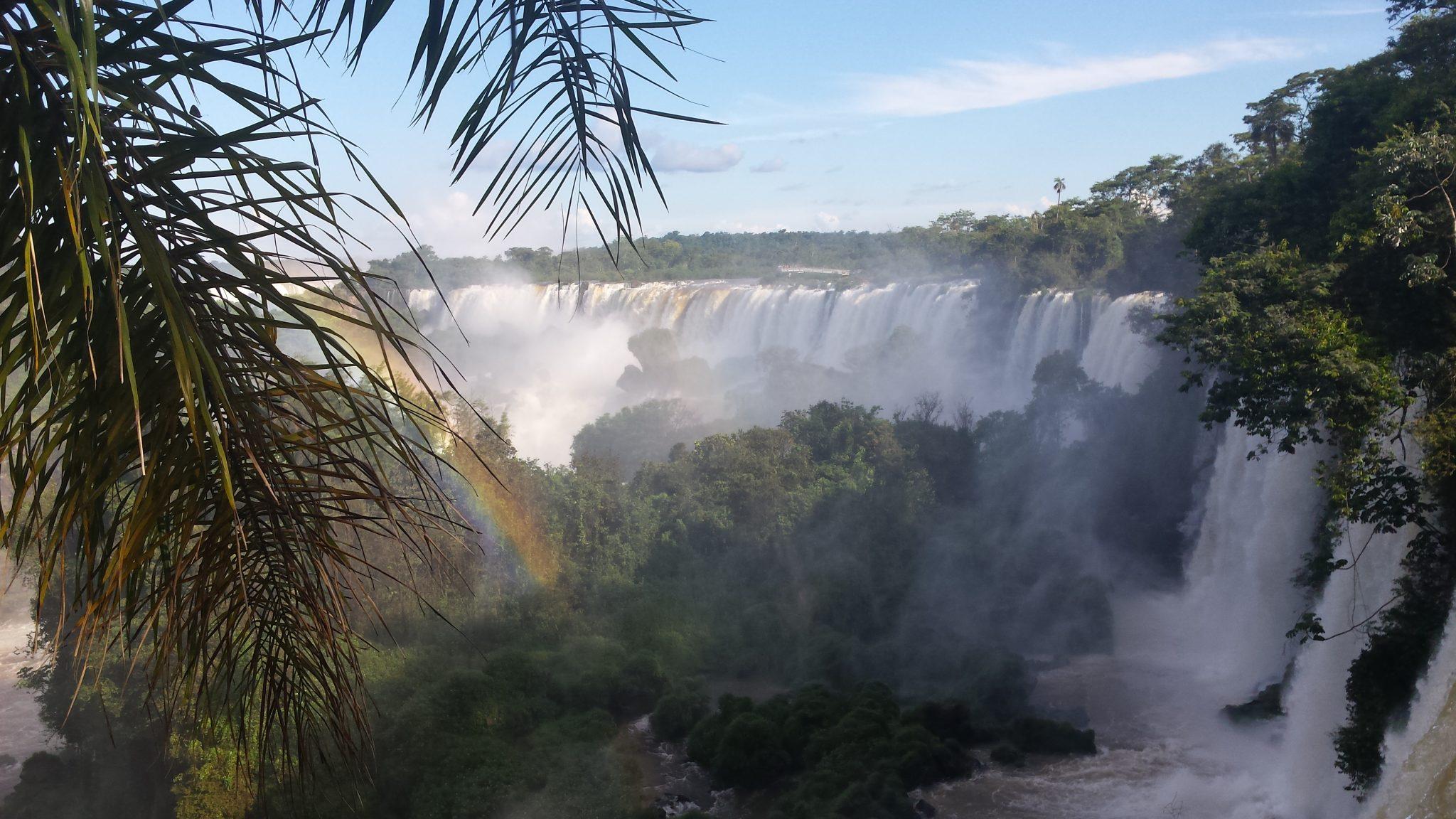 Img post Cataratas paso superior lado argentino Iguazú. Pasaporte y Millas