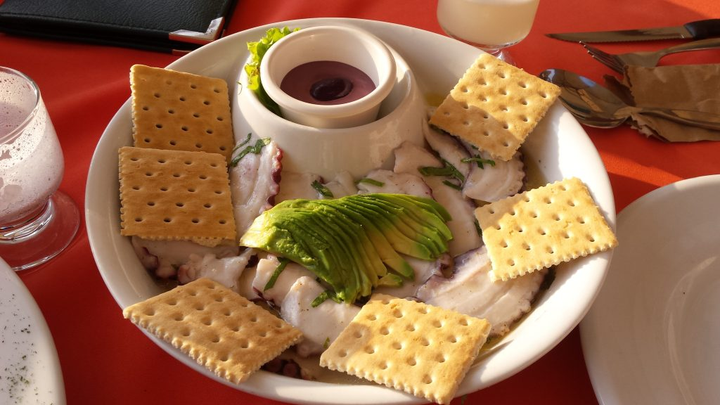 Imagen post donde comer en Lima en un día y medio- Restaurante Javier. Pulpo al olivo