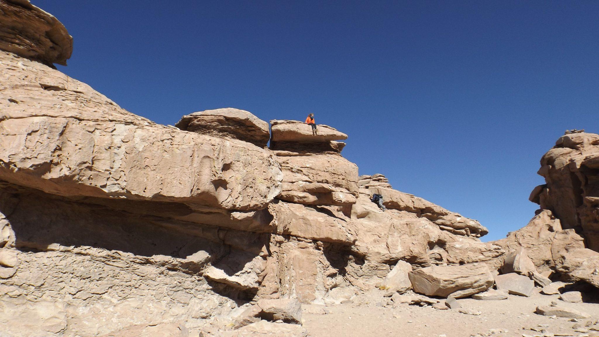 Img post Desierto del Siloli 2. Salar de Uyuni-Pasaporte y Millas