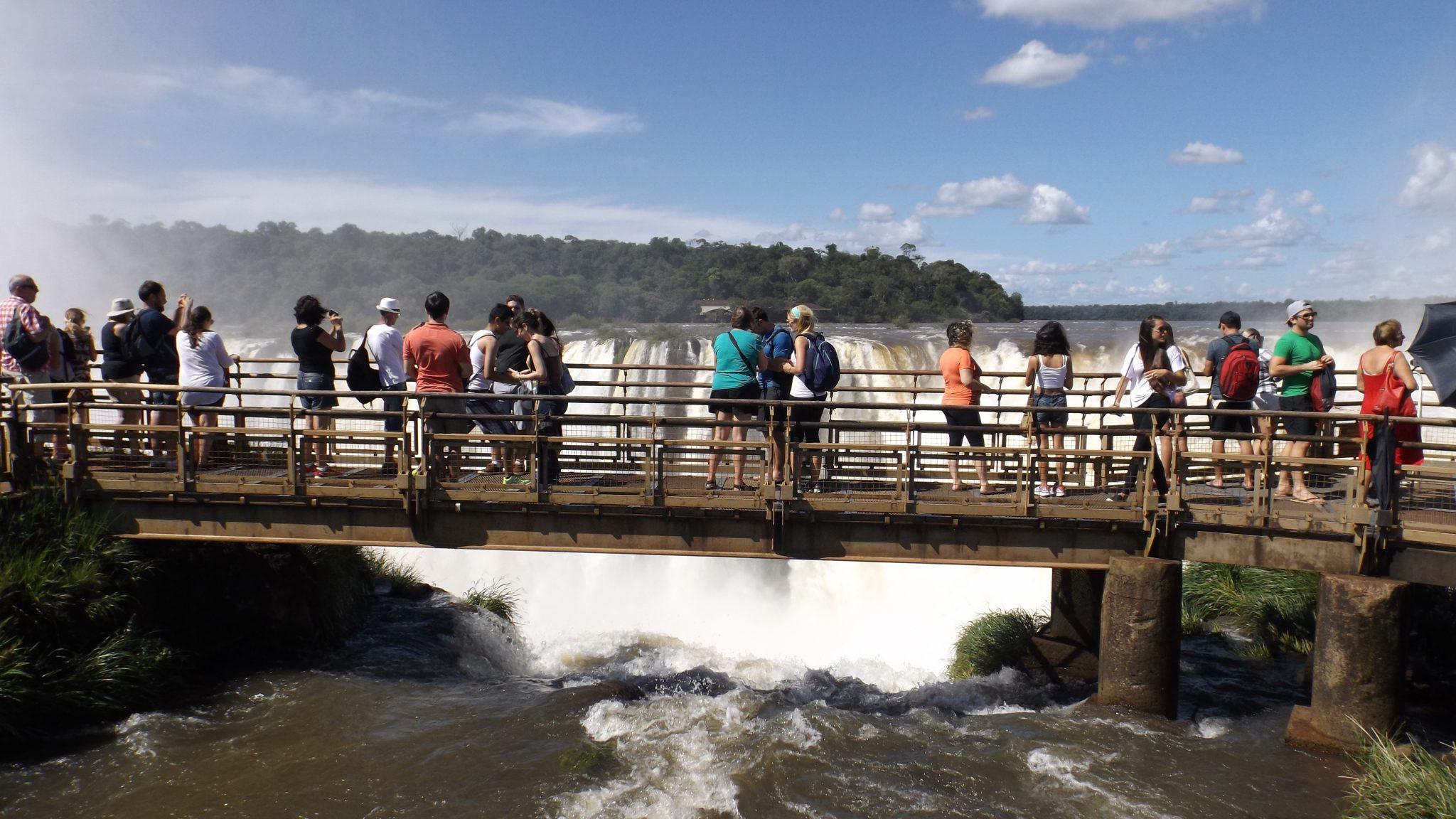 Img post Pasarela en Garganta del Diablo Iguazú. Pasaporte y Millas