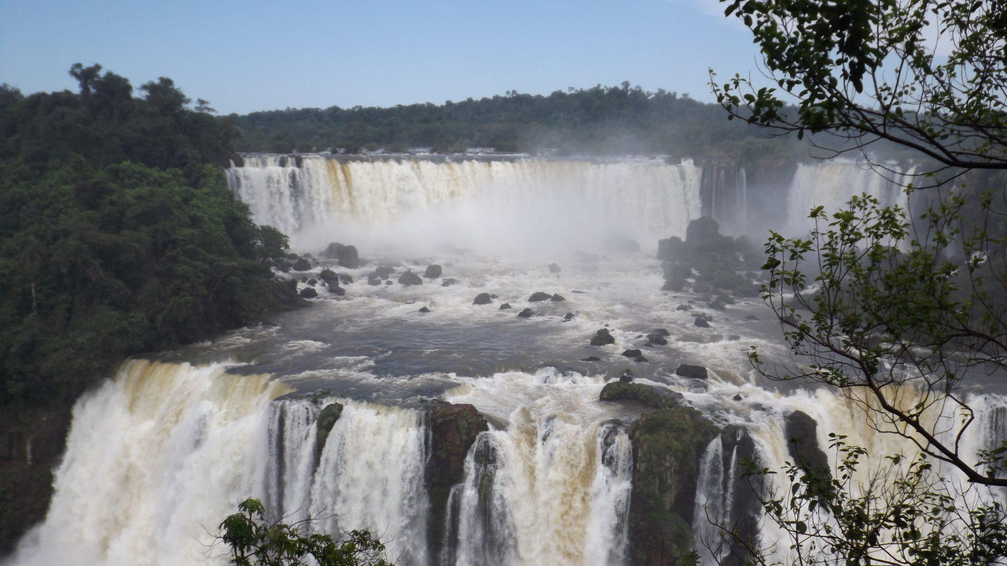 Img post Vista desde el lado brasileño Iguazú. Pasaporte y Millas