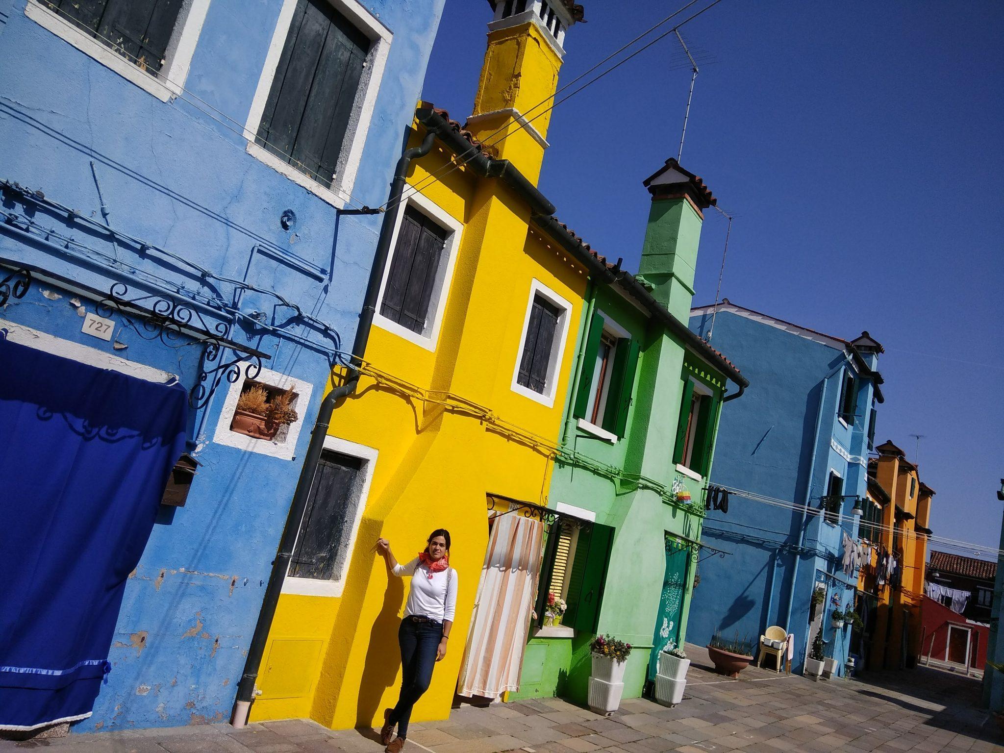 Img post Burano desde Venecia. Casitas de colores - Pasaporte y Millas