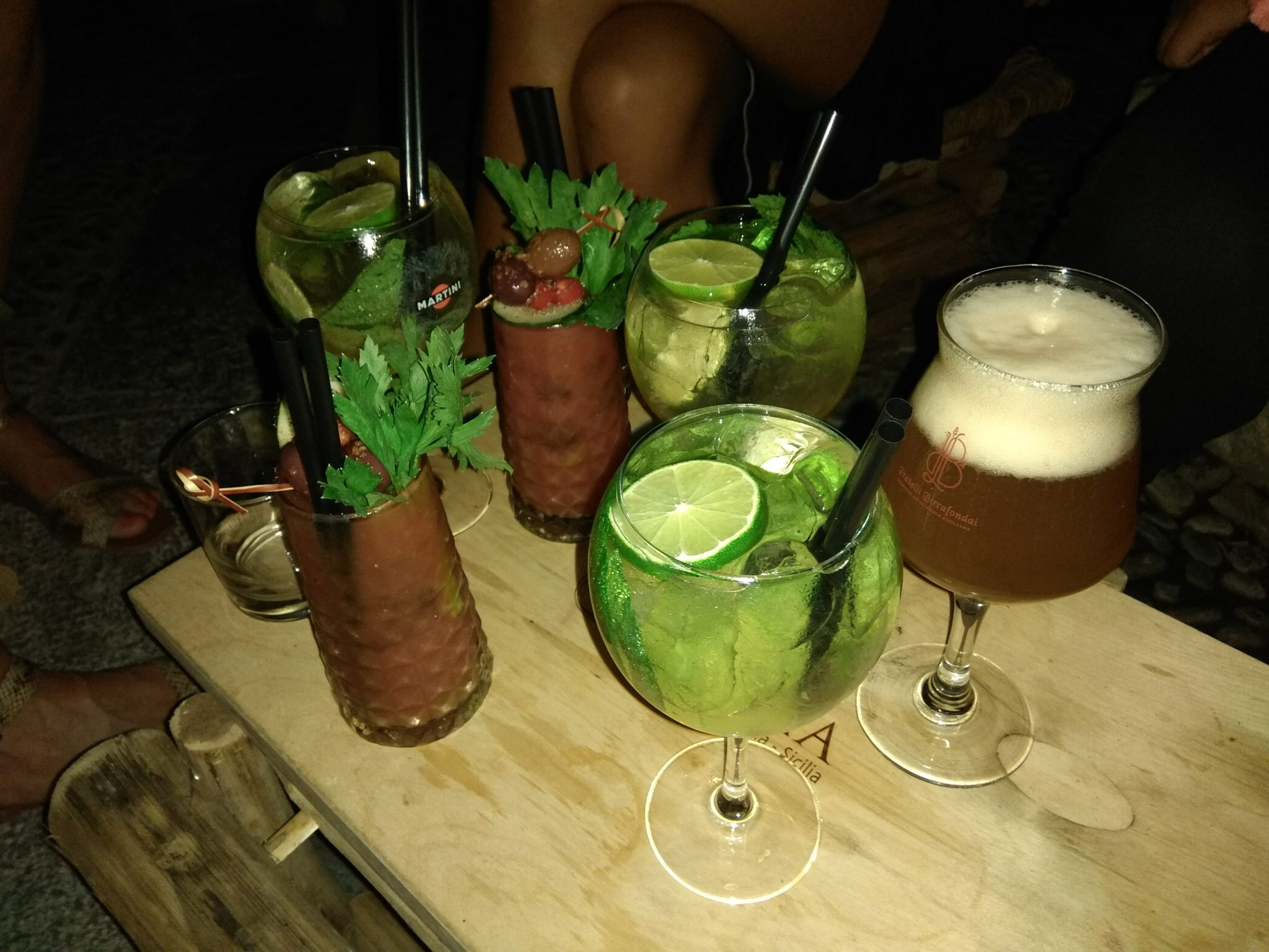 Img post Cócteles. Comer en Taormina - Pasaporte y Millas