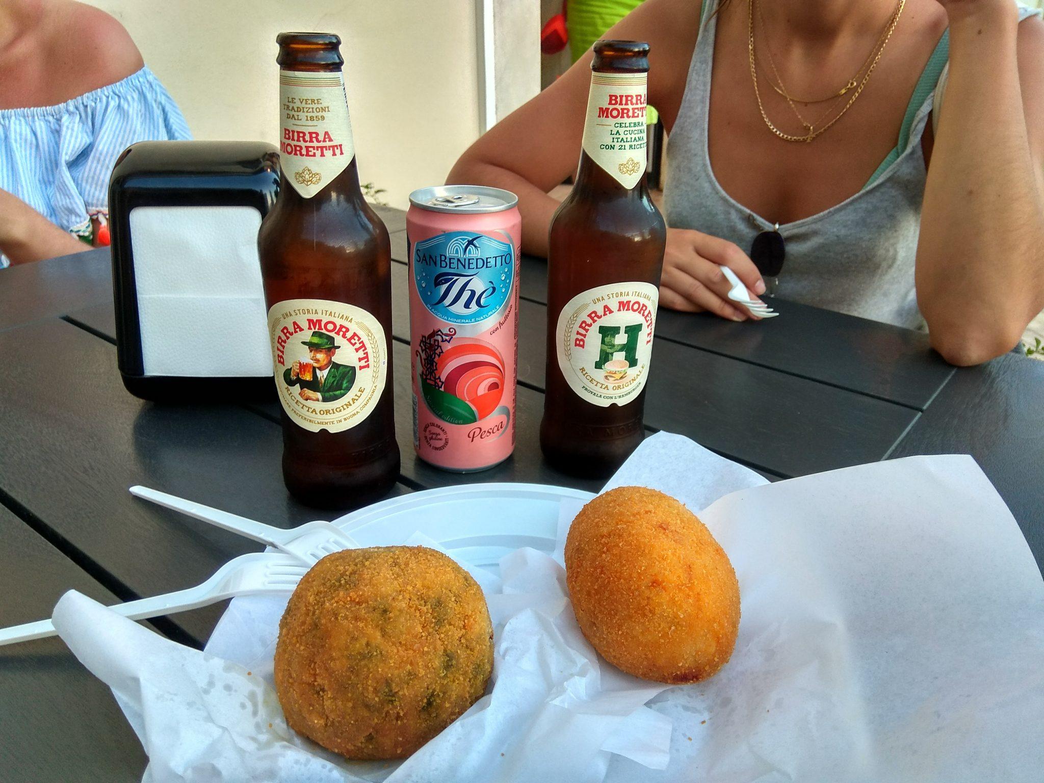 Img post Arancini en Noto. Comer en Noto- Pasaporte y Millas