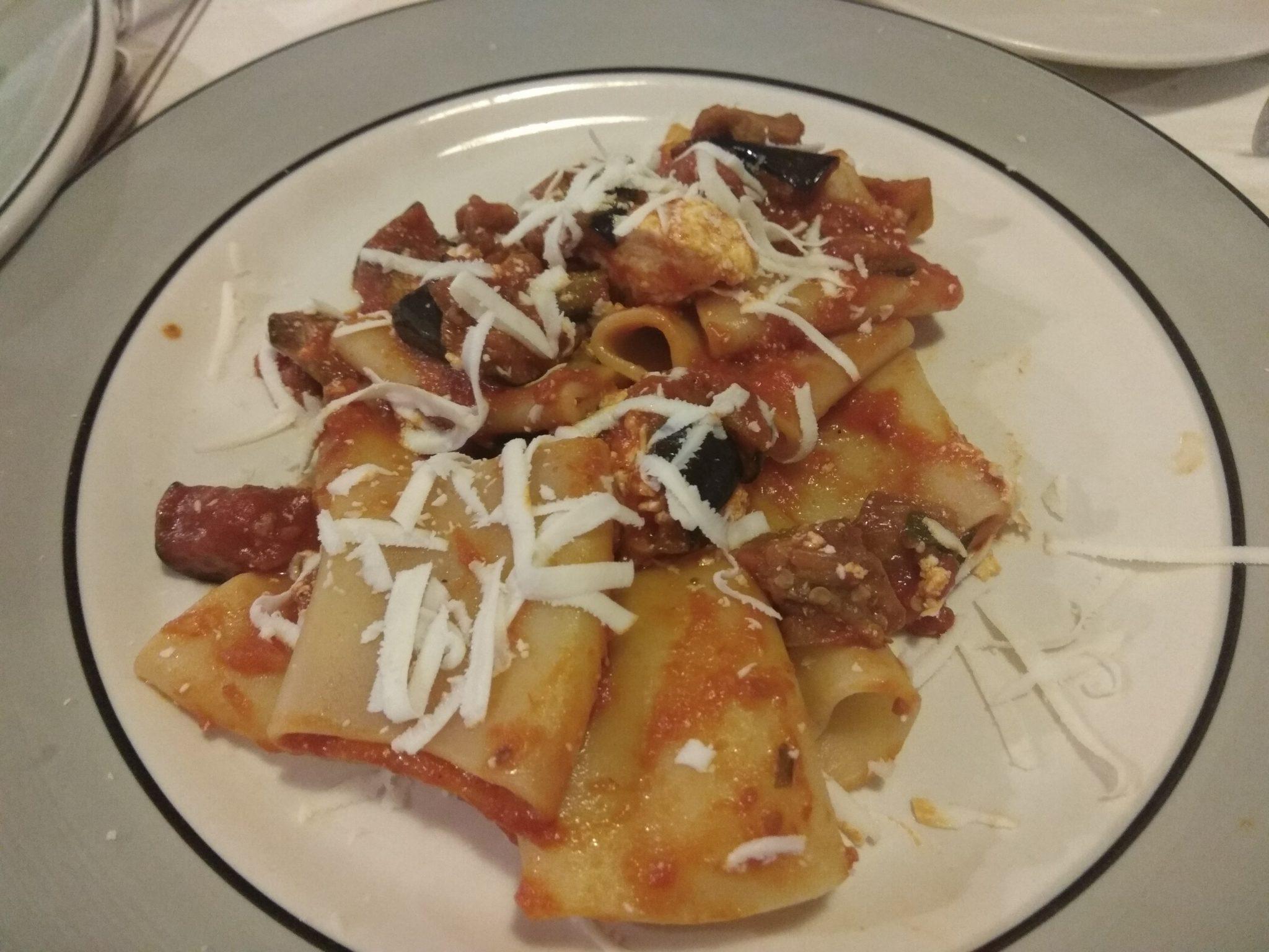 Img post Pasta a la norma. Comer en Siracusa- Pasaporte y Millas