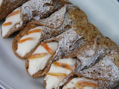 Ims post Cannoli siciliano. Comer en Sicilia- Pasaporte y Millas