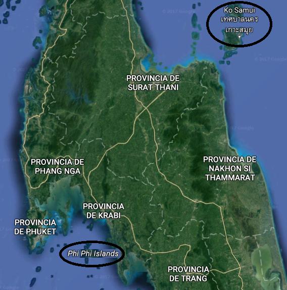 Antes de viajar a Tailandia. Phi Phi a Koh Samui-Pasaporte y Millas