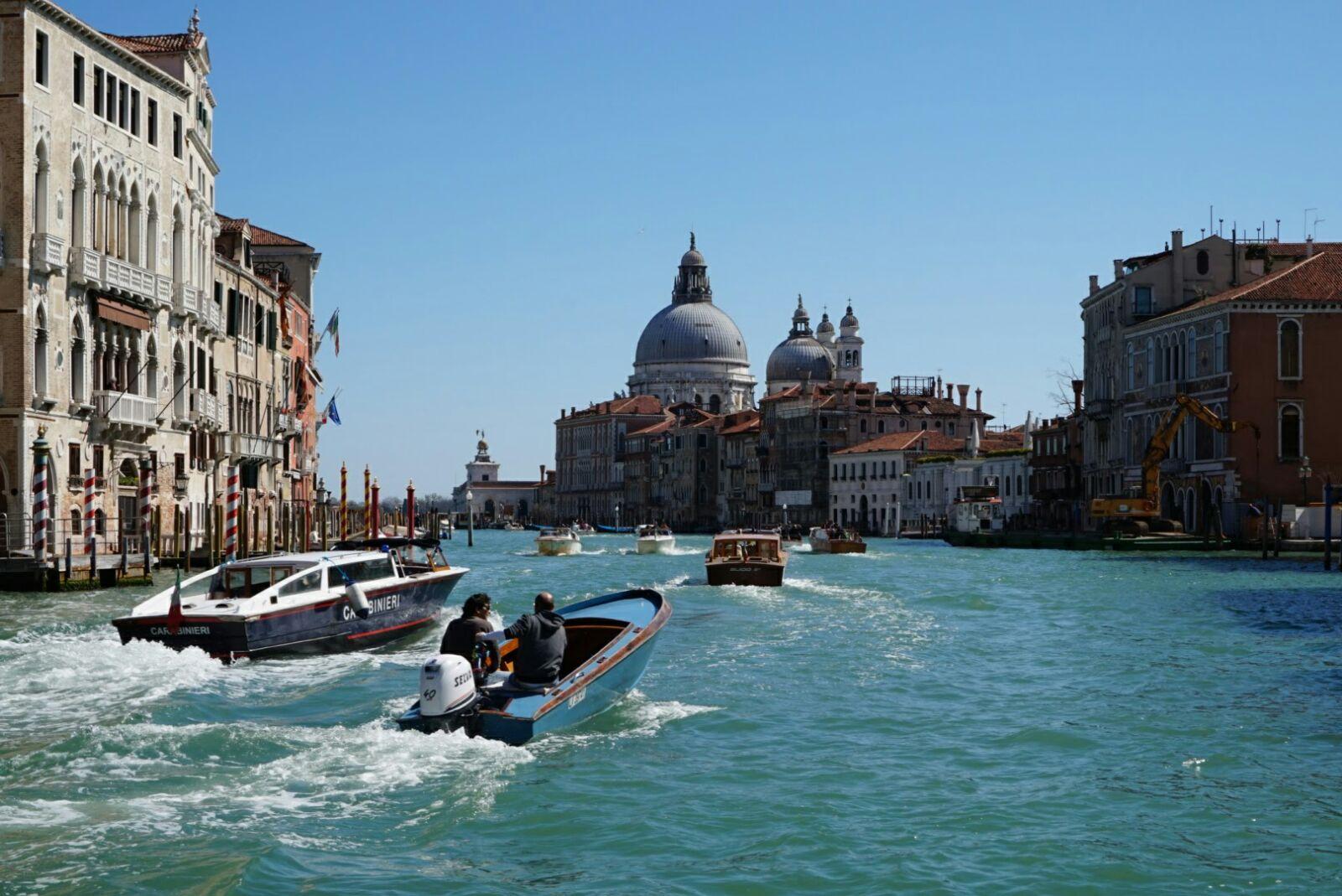 Img post Vista desde puente de la Academia en Venecia. Venecia, Bolonia y Verona-Pasaporte y Millas