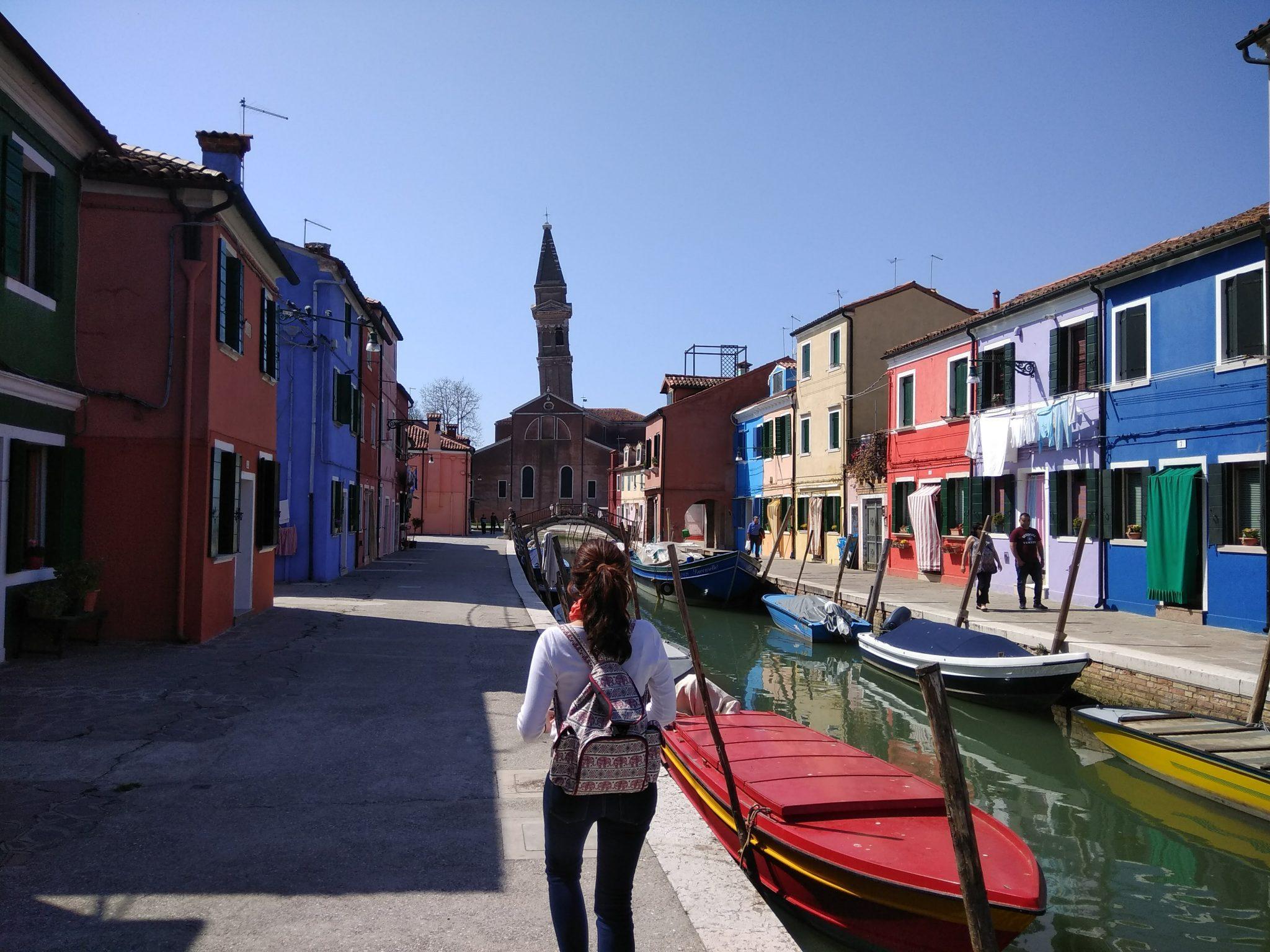 Img post Excursión a Burano desde Venecia. Venecia, Bolonia y Verona-Pasaporte y Millas