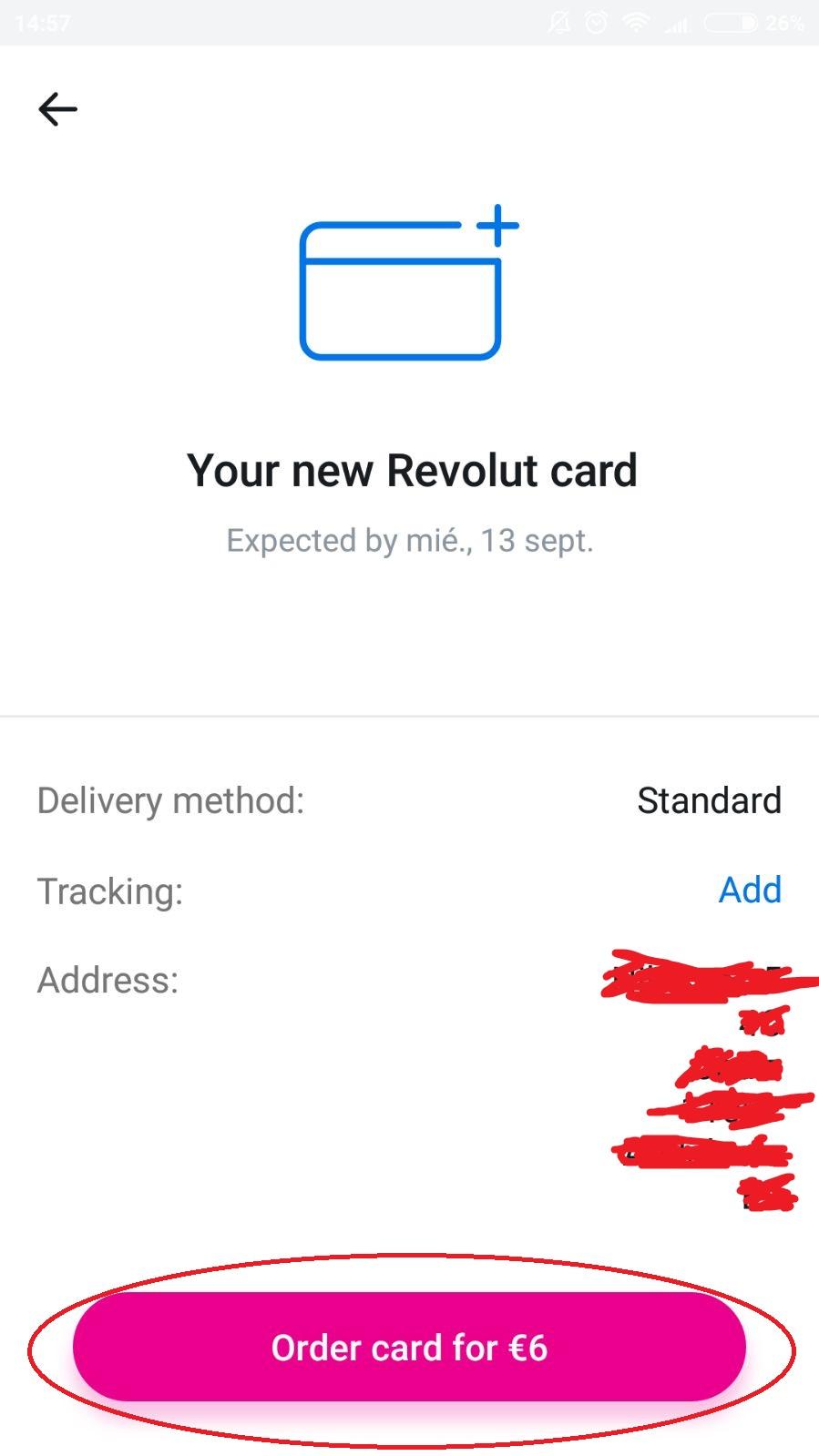 Img post Ordenar Tarjeta Revolut Paso 13-Pasaporte y Millas