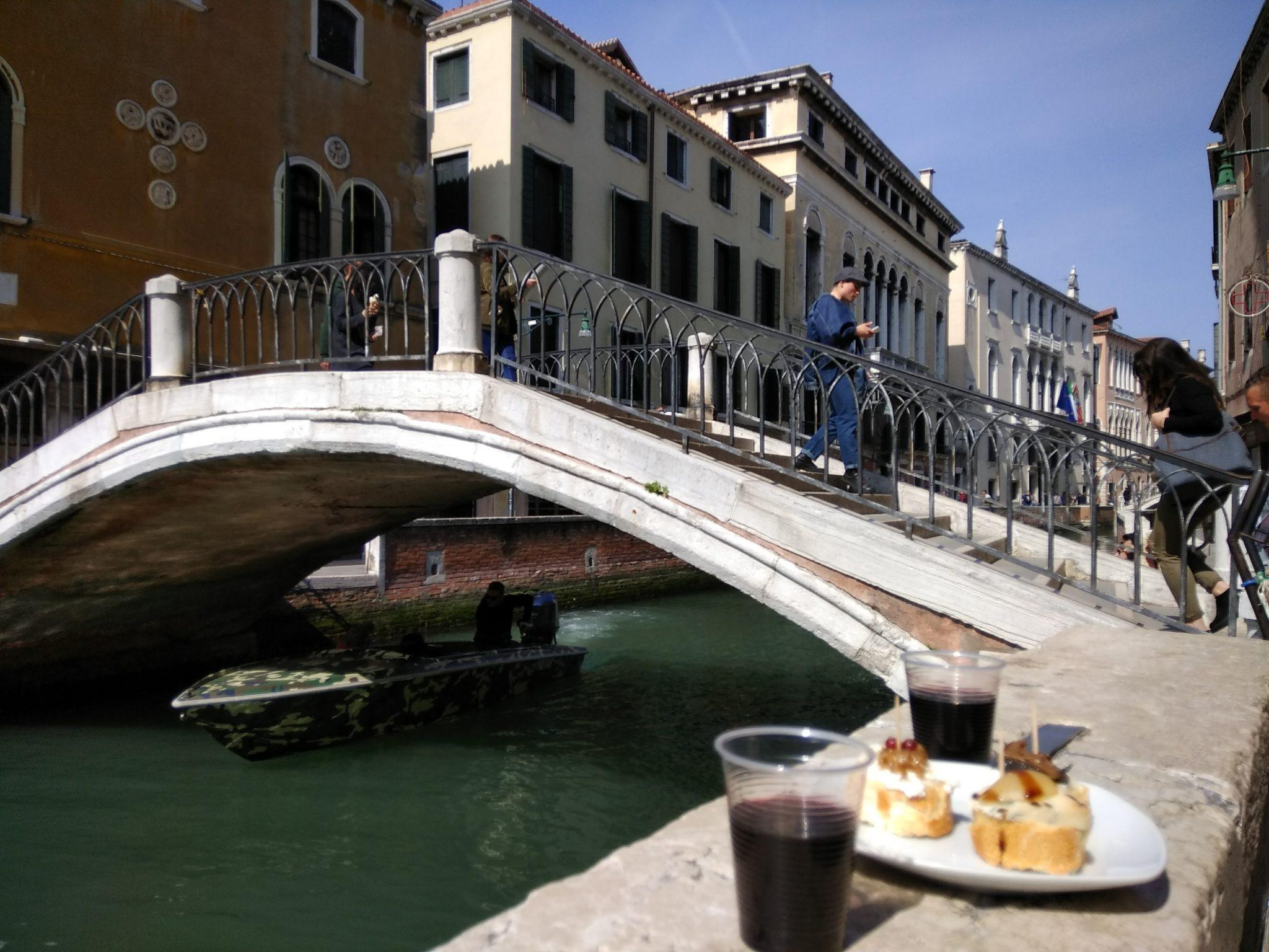 Img post Donde comer en Venecia bacari. Venecia, Bolonia y Verona-Pasaporte y Millas