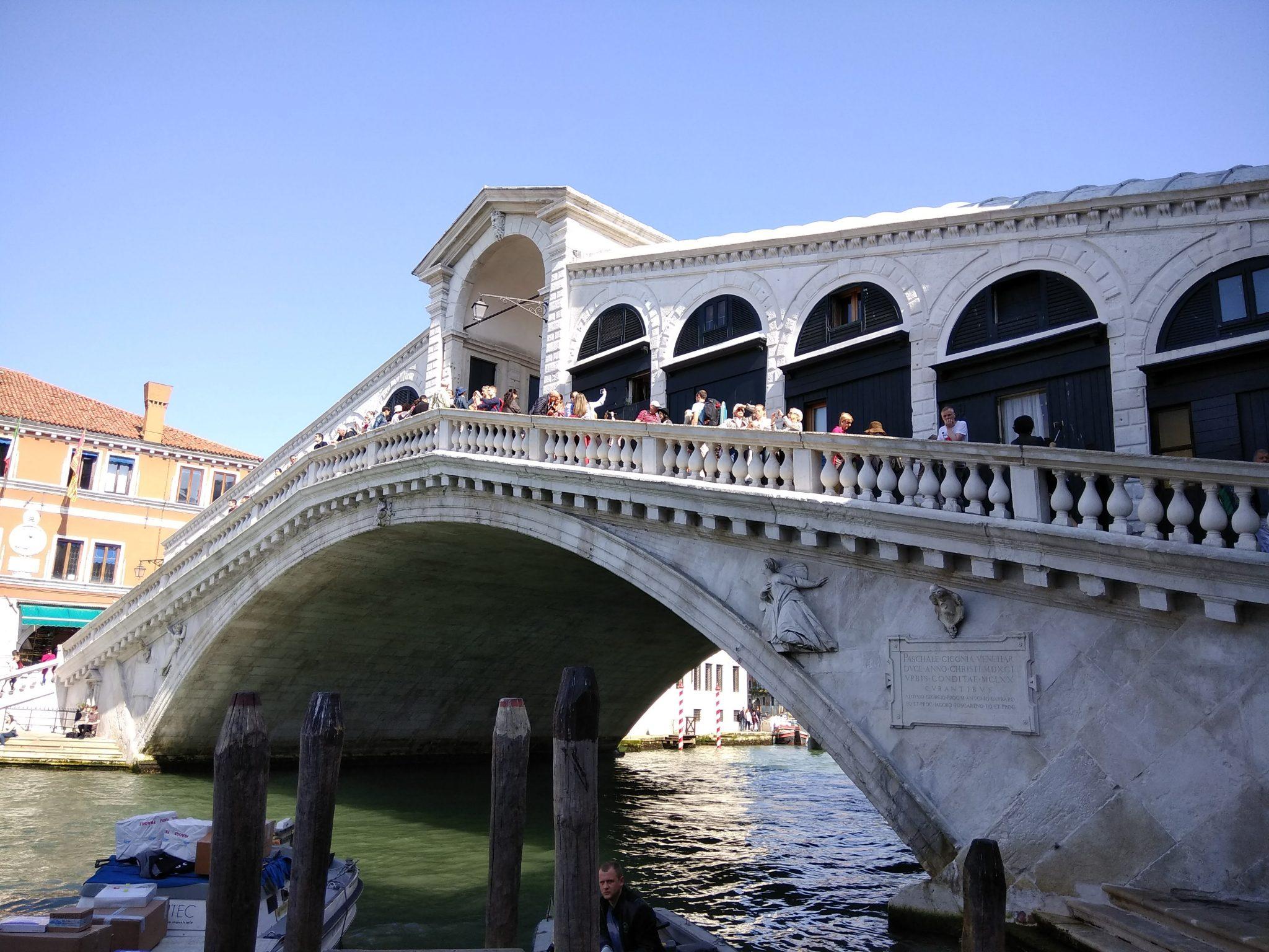 Img pos Puente Rialto. Venecia, Bolonia y Verona-Pasaporte y Millas