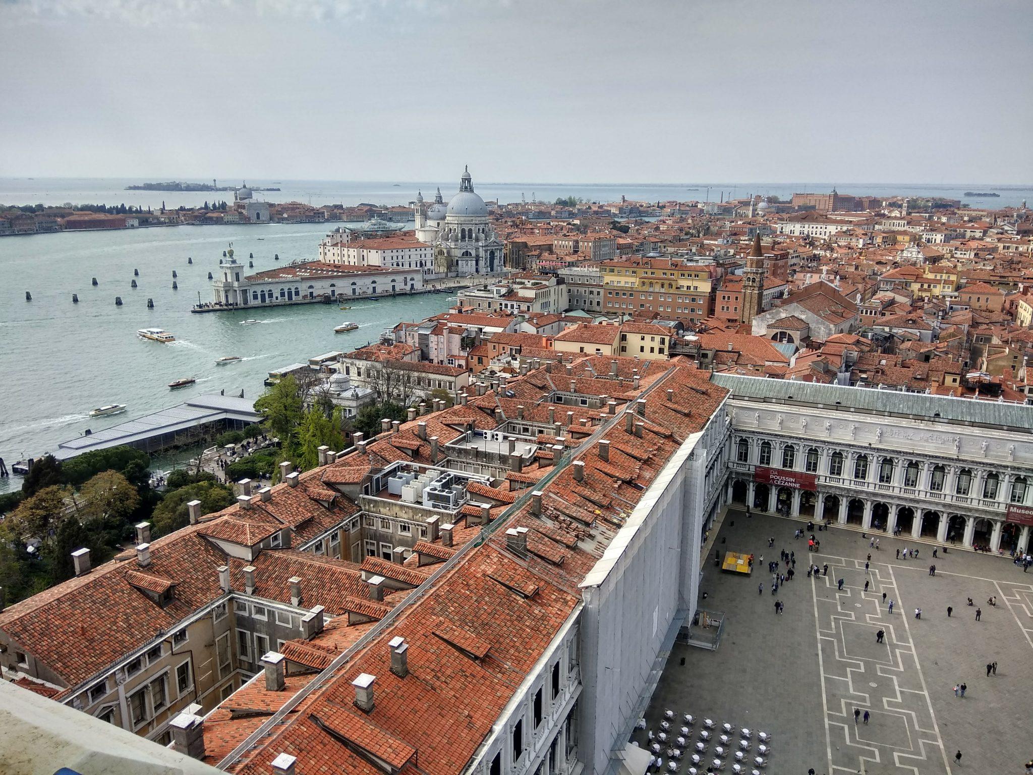 Img post Venecia vistas desde el Campanille. Venecia, Bolonia y Verona-Pasaporte y Millas