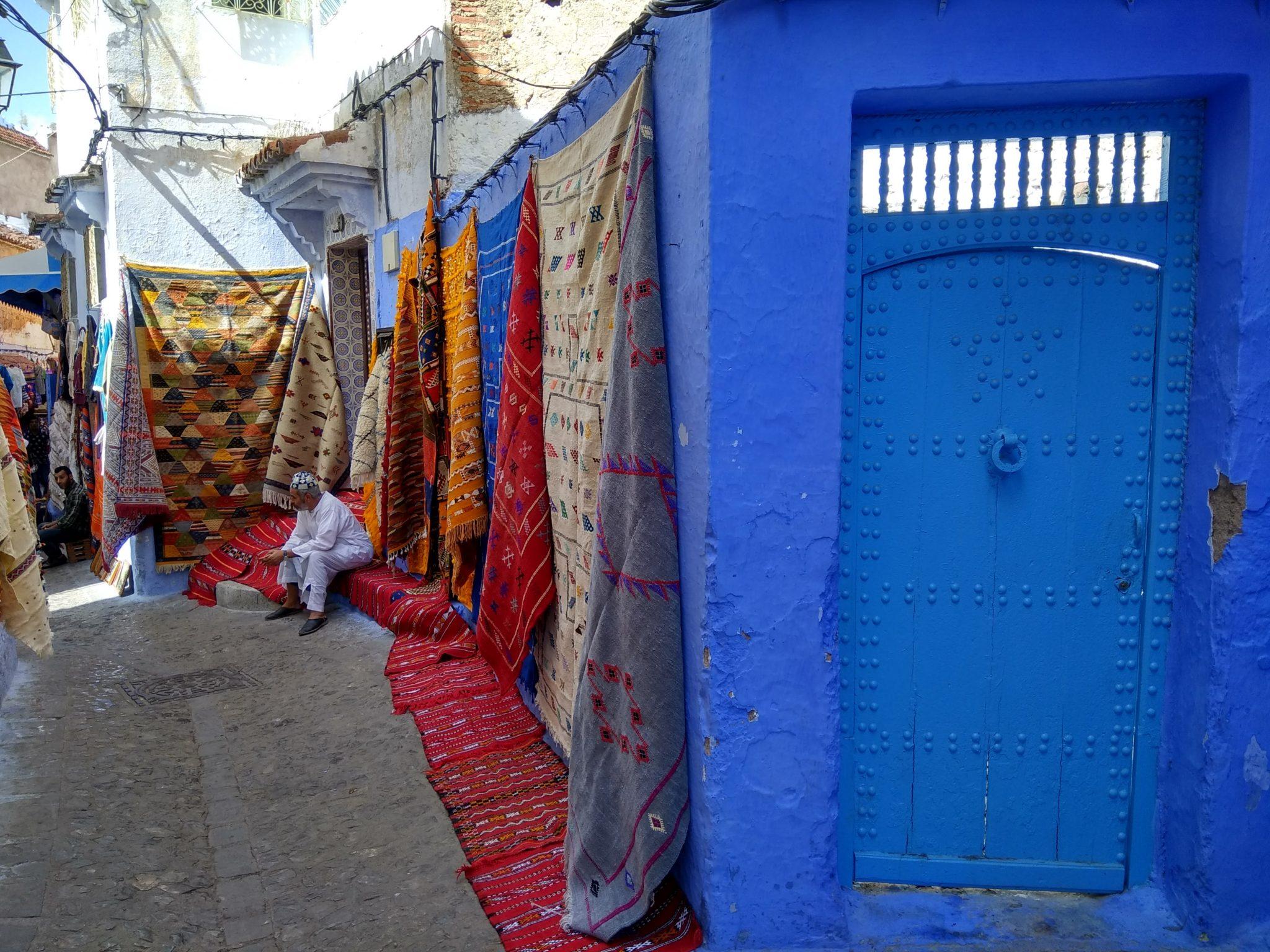 Alfombras. Antes de viajar a Marruecos - Pasaporte y Millas