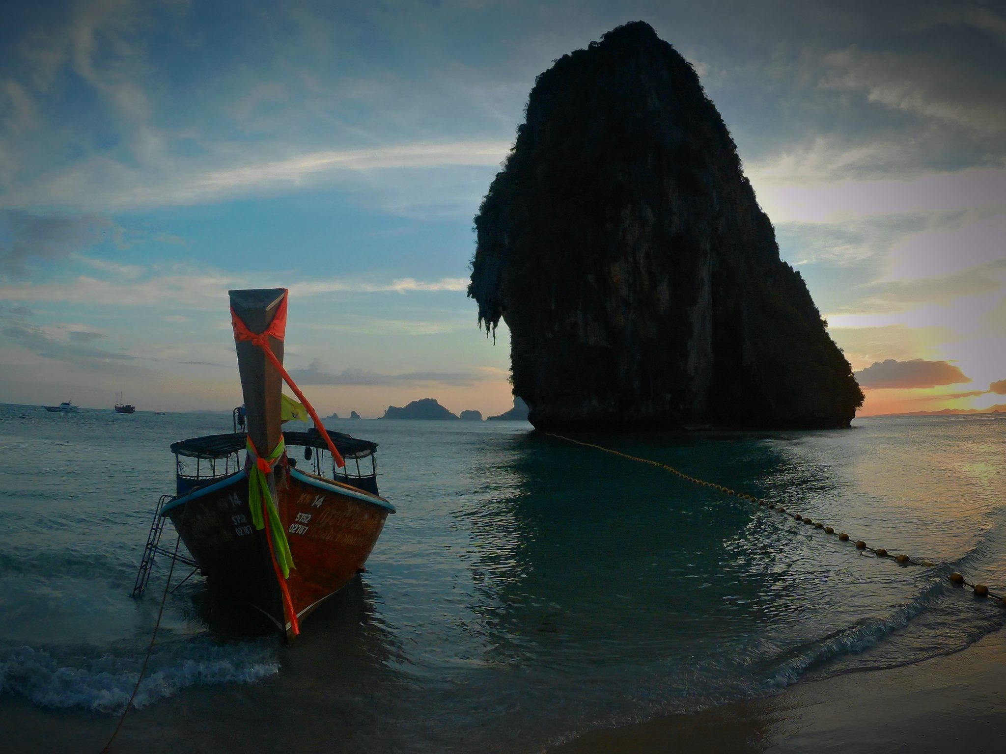 Img post Railay Beach- Pasaporte y Millas
