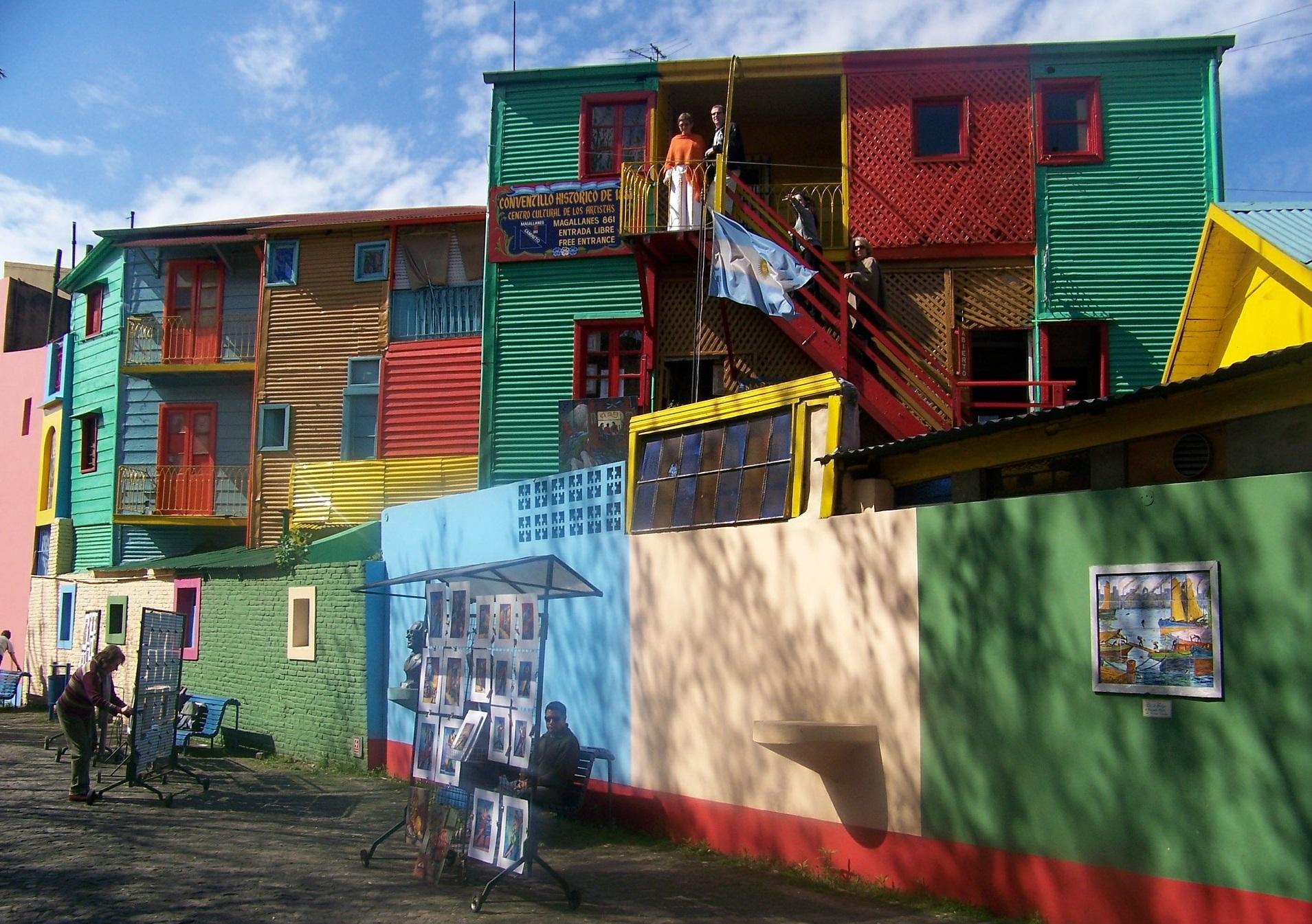 Img post Tres días en Buenos Aires. Pinturas Caminito - Pasaporte y Millas