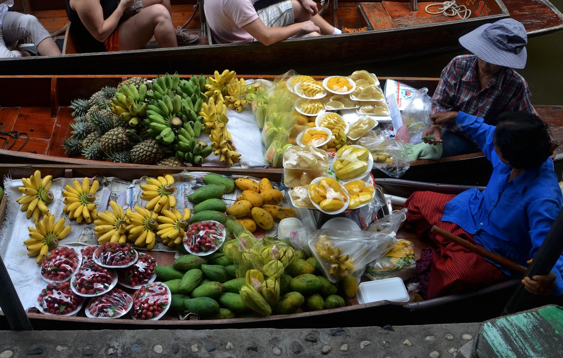 Img post Mercado Flotante. Un mes en Tailandia- Pasaporte y Millas