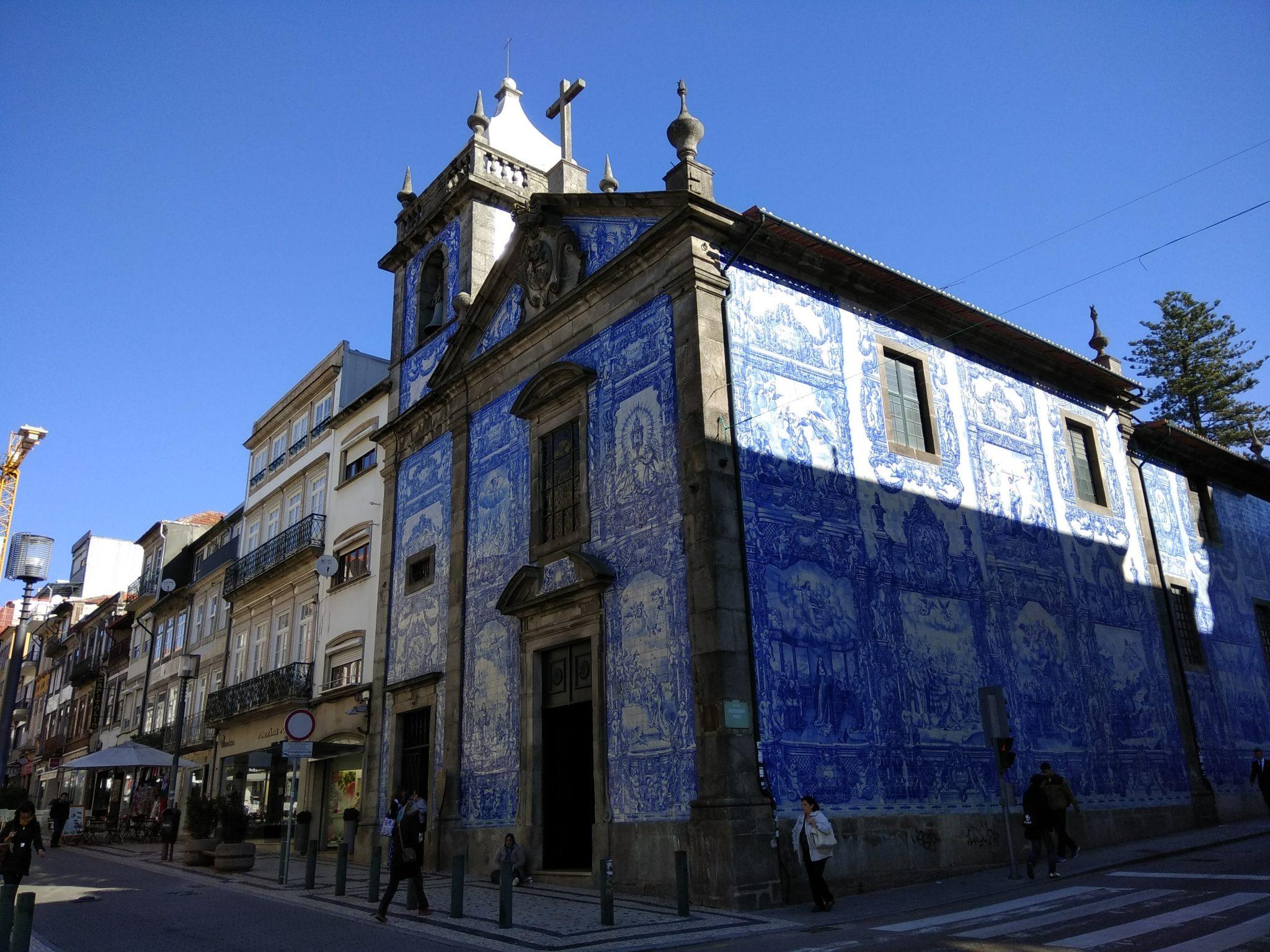 Imagen Post 2 días en Oporto. Iglesia Das Almas - Pasaporte y Millas