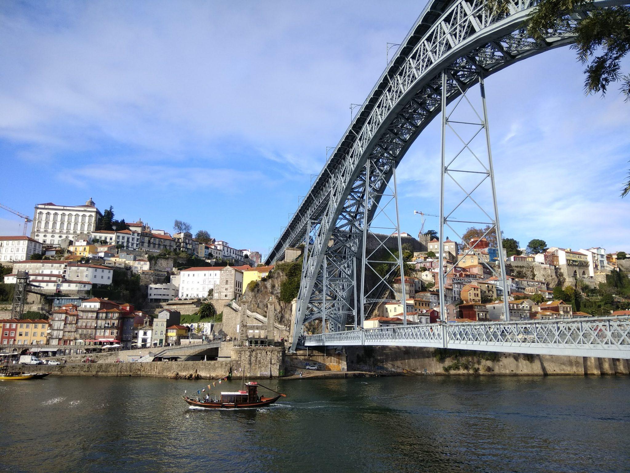 Imagen Post 2 días en Oporto. Puente Luis I - Pasaporte y Millas