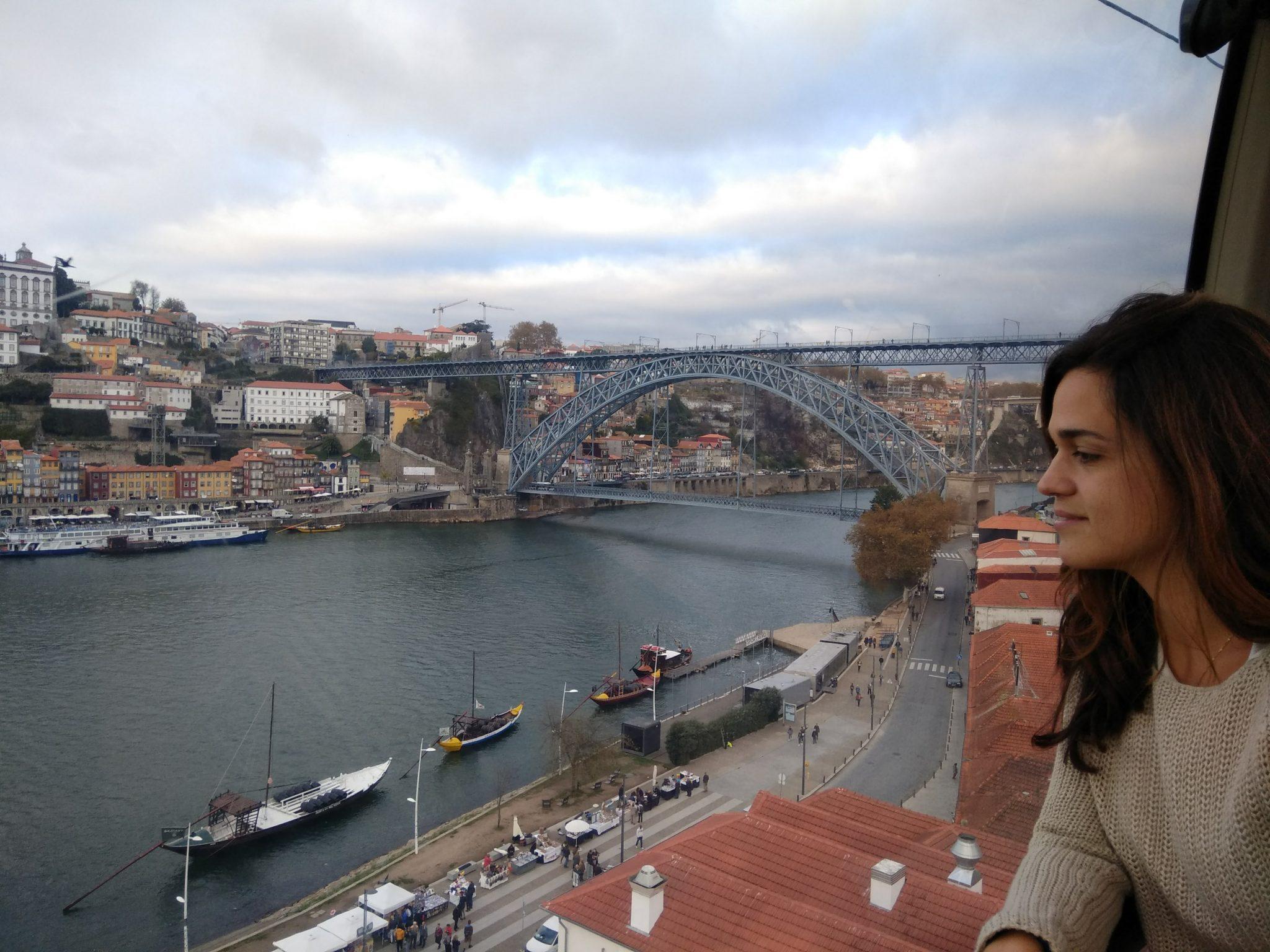 Imagen post 2 días en Oporto. Mirador teleférico - Pasaporte y Millas