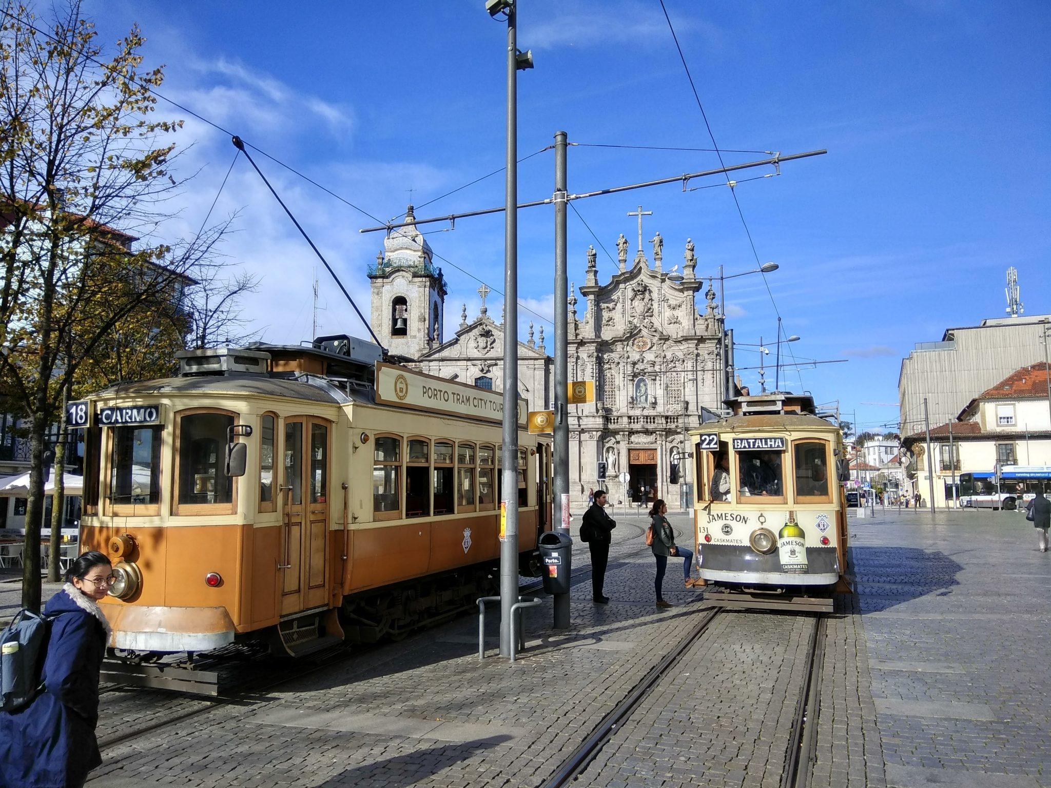 Imagen Post 2 días en Oporto. Tranvía 22 - Pasaporte y Millas