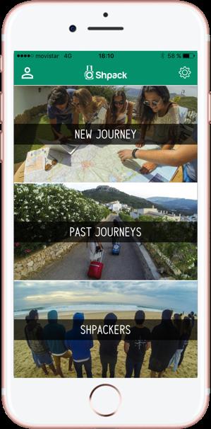 Compartir fotos de viajes. Shpack. Nuevo Viaje 1-Pasaporte y Millas