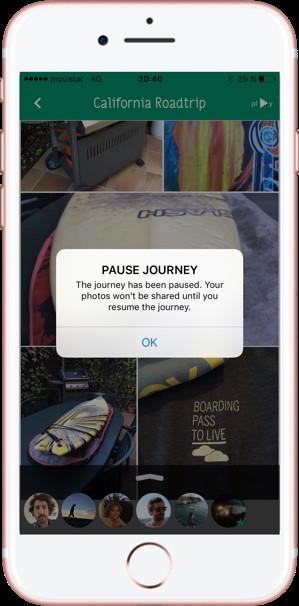 Compartir fotos de viajes. Shpack. Pausar Viaje 1 - Pasaporte y Millas