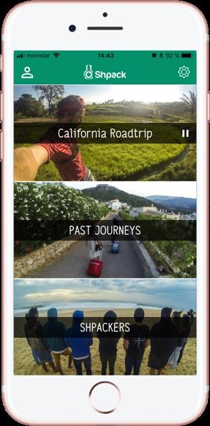 Compartir fotos de viajes. Shpack. Pausar Viaje 2 - Pasaporte y Millas