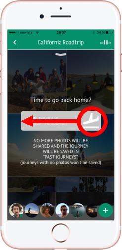 Compartir fotos de viajes. Shpack. Cerrar Viaje 2 - Pasaporte y Millas