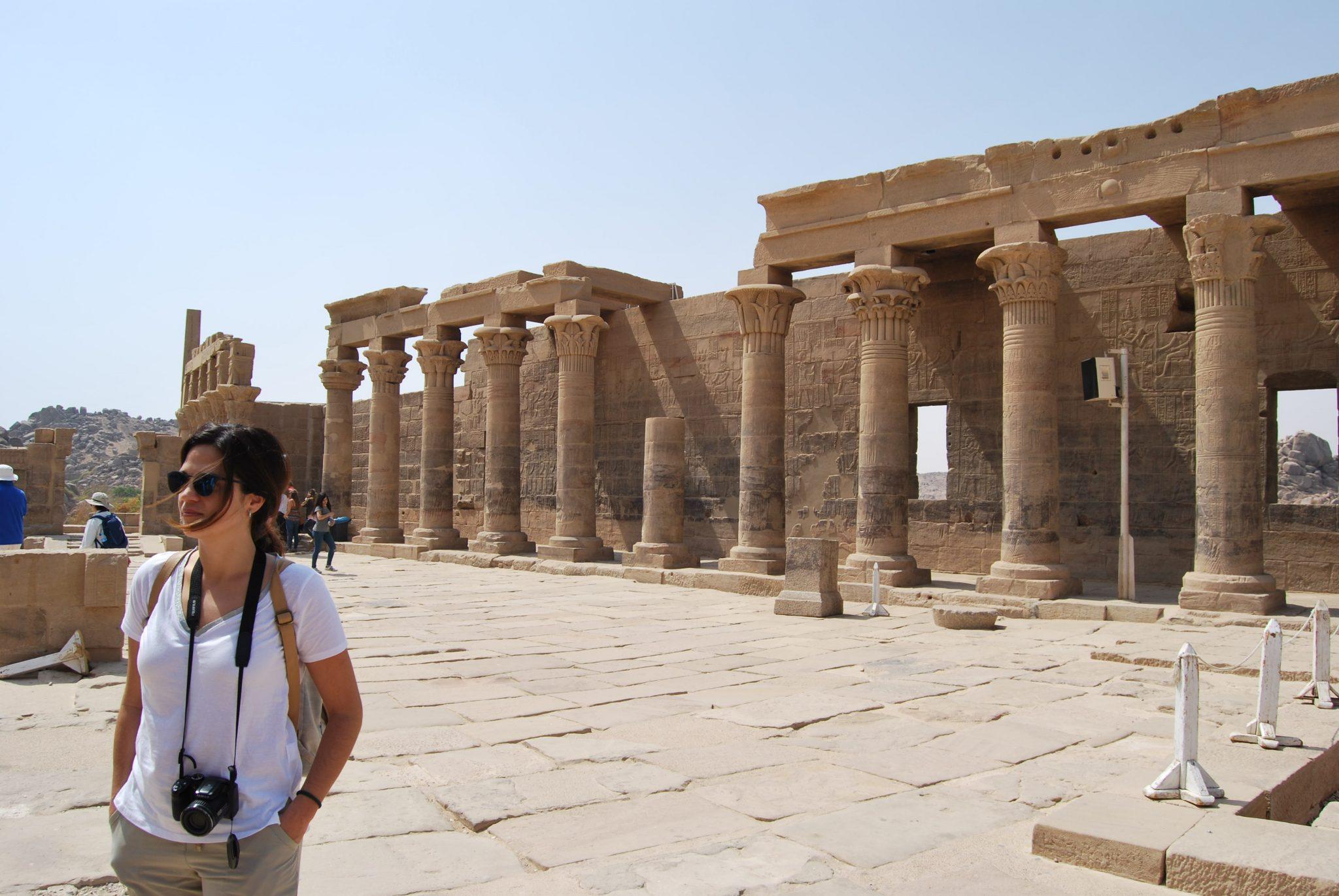 Post Egipto es seguro. Templo