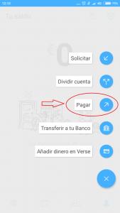 Imagen post Verse y Tarjeta Verse. Pagar dinero - Pasaporte y Millas