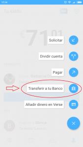 Imagen post Verse y Tarjeta Verse. Transferir- Pasaporte y Millas