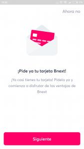 Imagen post tarjeta bnext_6. solicitar tarjeta. Ultimo paso - Pasaporte y Millas