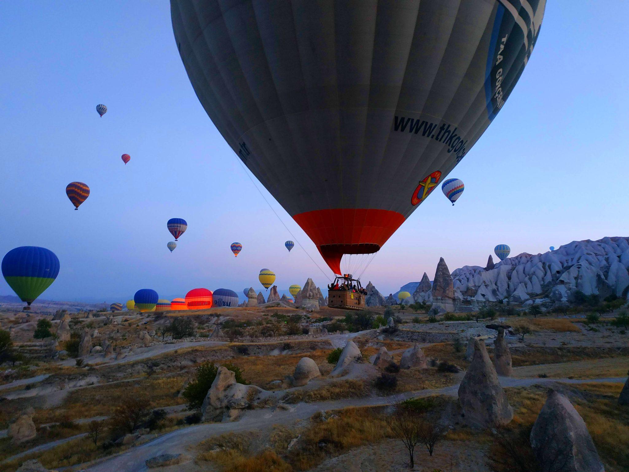 Imagen post Tres días en la Capadocia. Paseo en globo Capadocia - Pasaporte y Millas