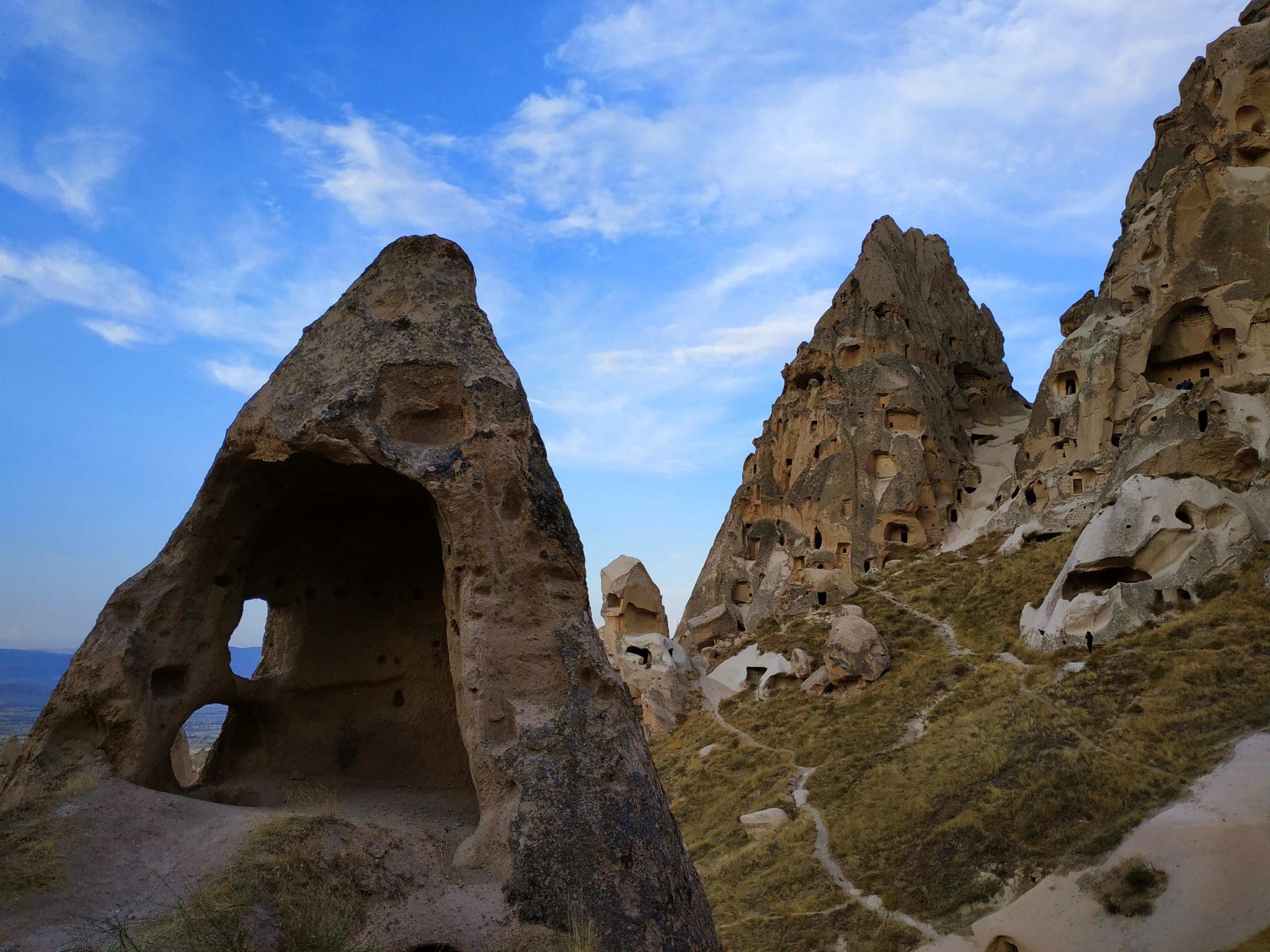 Imagen post Tres días en la Capadocia. Castillo de Uchisar - Pasaporte y Millas