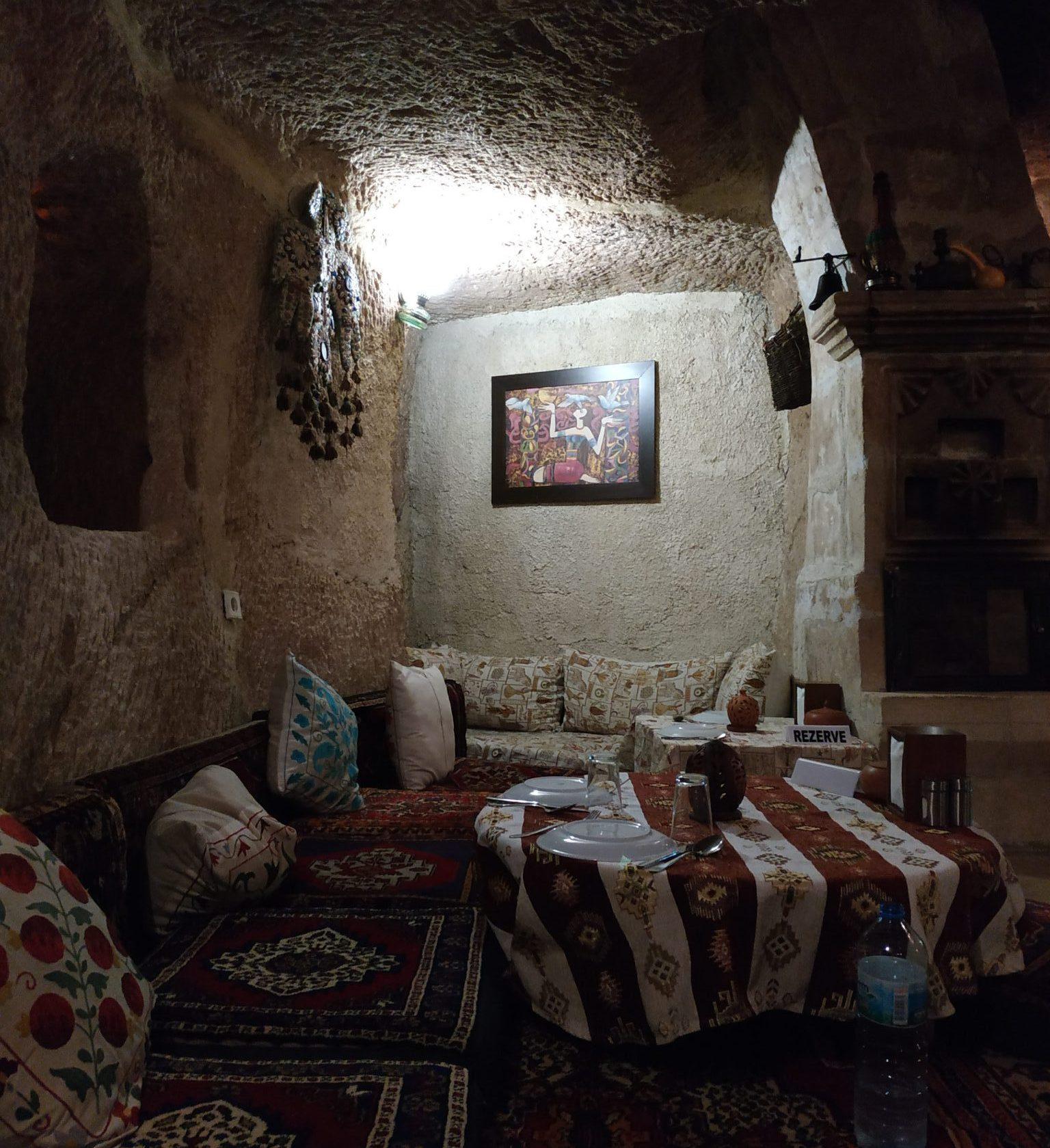 Imagen post Tres días en la Capadocia. Restaurante Cueva Goreme - Pasaporte y Millas