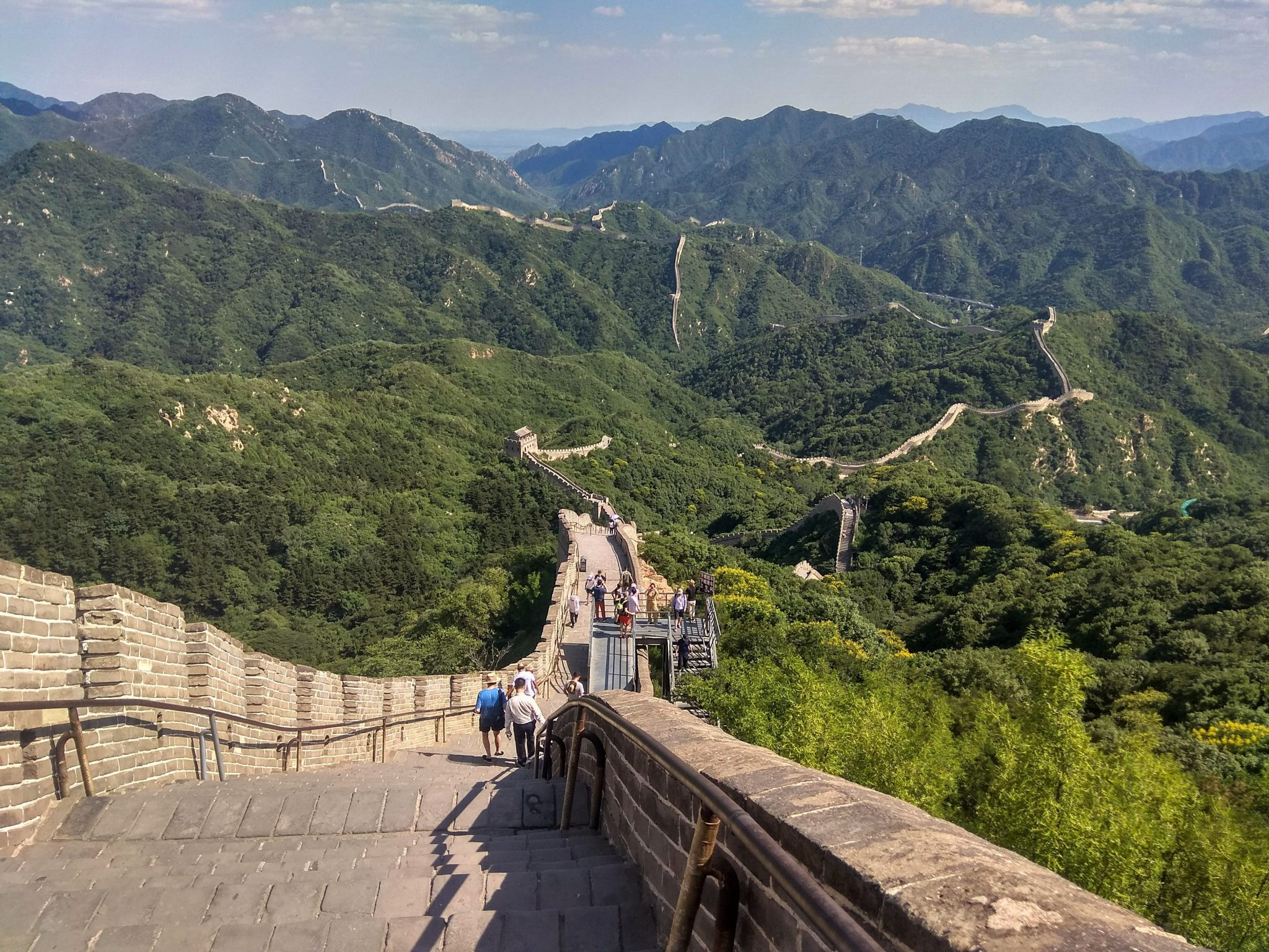 Sección Badaling. Post que parte ver de la muralla china - Pasaporte y Millas