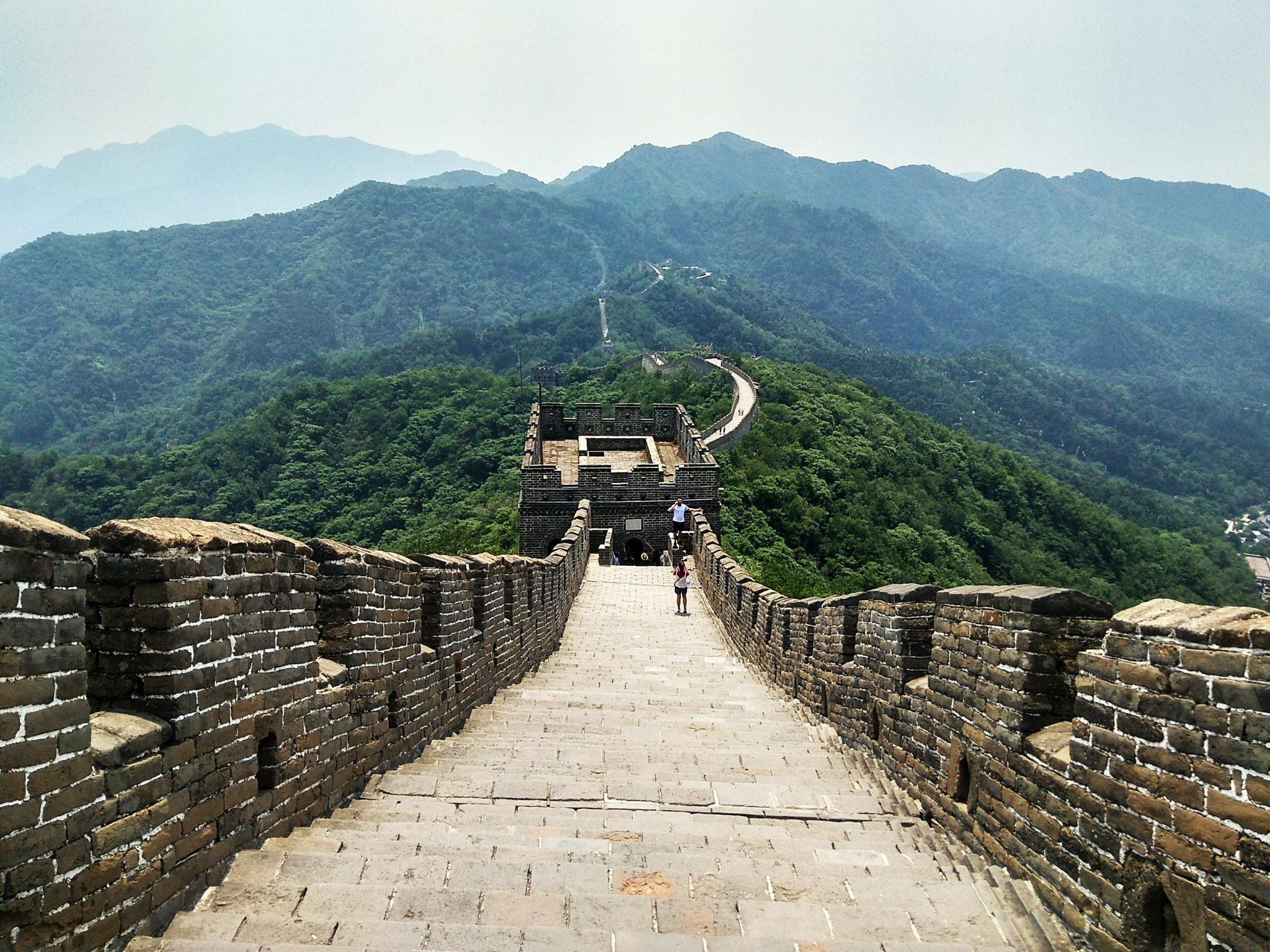 Torre de Mutianyu. Post que parte ver de la muralla china - Pasaporte y Millas