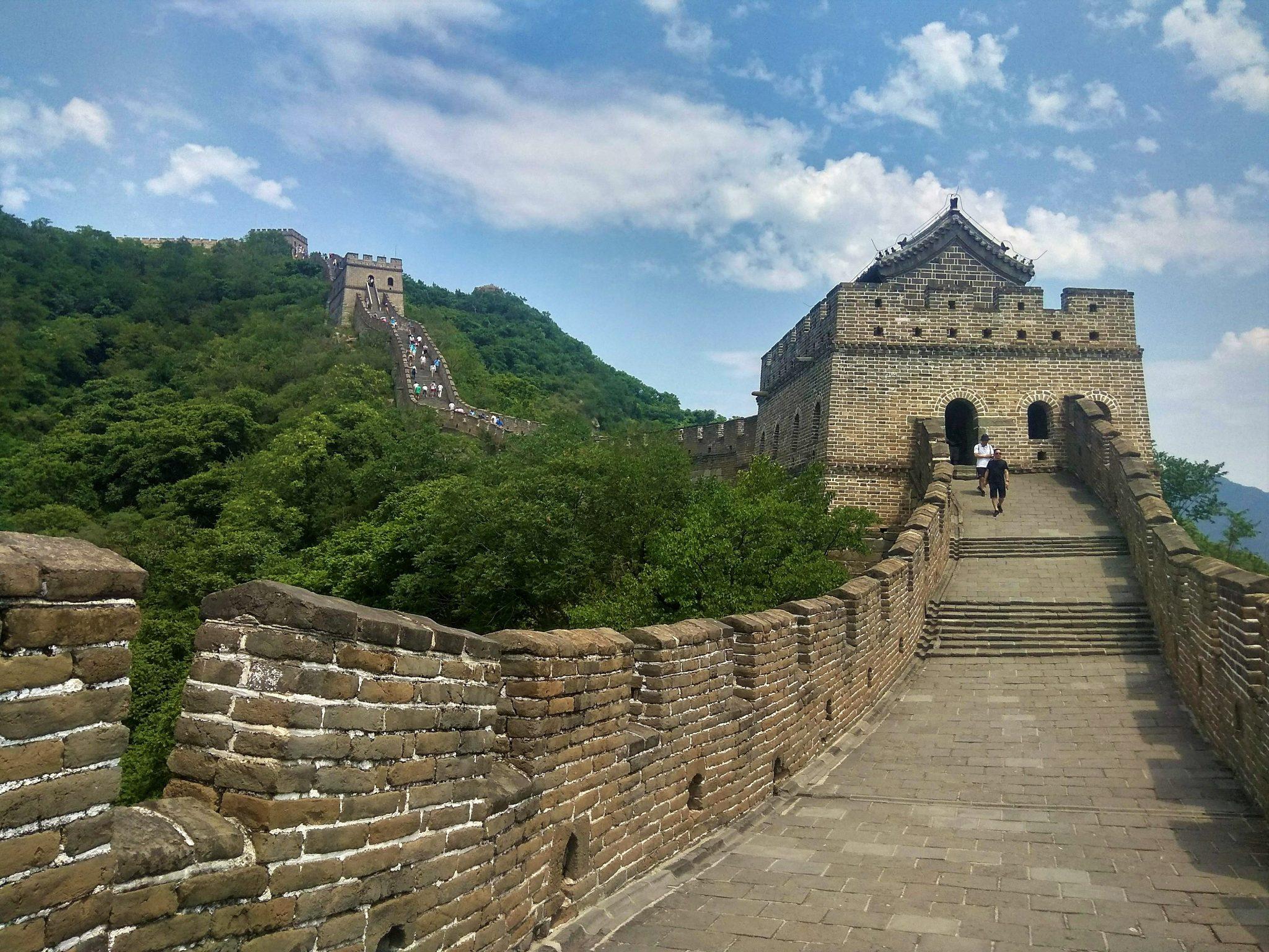 Sección Mutianyu. Post que parte ver de la muralla china - Pasaporte y Millas