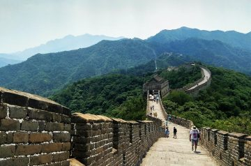 Paseo por Mutianyu. Post que parte ver de la muralla china - Pasaporte y Millas