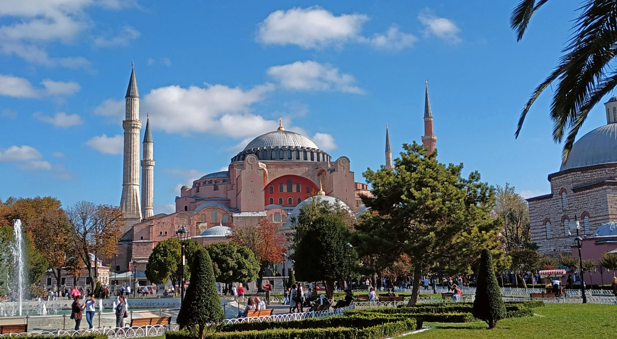 Imagen post Cuatro días en Estambul. Santa Sofía - Pasaporte y Millas