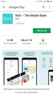 Imagen post Tarjeta N26. Descargar App. Paso 1 - Pasaporte y Millas