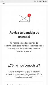 Imagen post Tarjeta N26. Email confirmacion. Paso 1 - Pasaporte y Millas