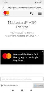 Imagen post Tarjeta N26. Retiradas cajero. Localizador cajeros Mastercard - Pasaporte y Millas