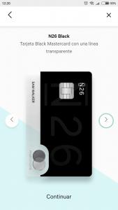 Imagen post Tarjeta N26. Tipo de cuenta N26. Paso 2 - Pasaporte y Millas