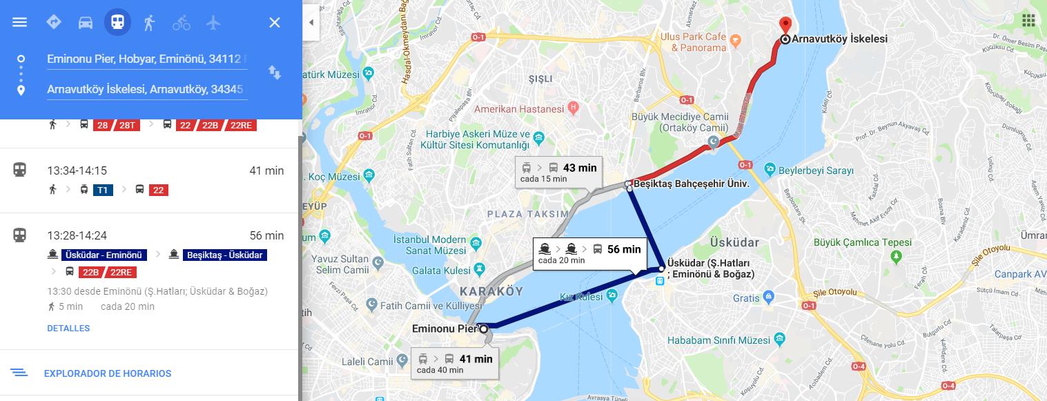 Imagen post Cuatro días en Estambul. Eminonu a Uskudar - Pasaporte y Millas